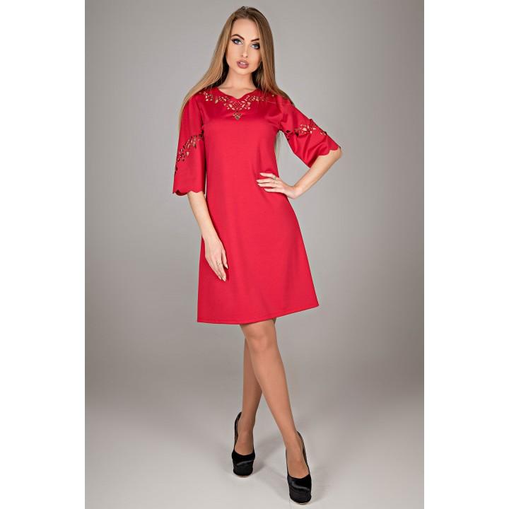 Платье Диколь (красный)