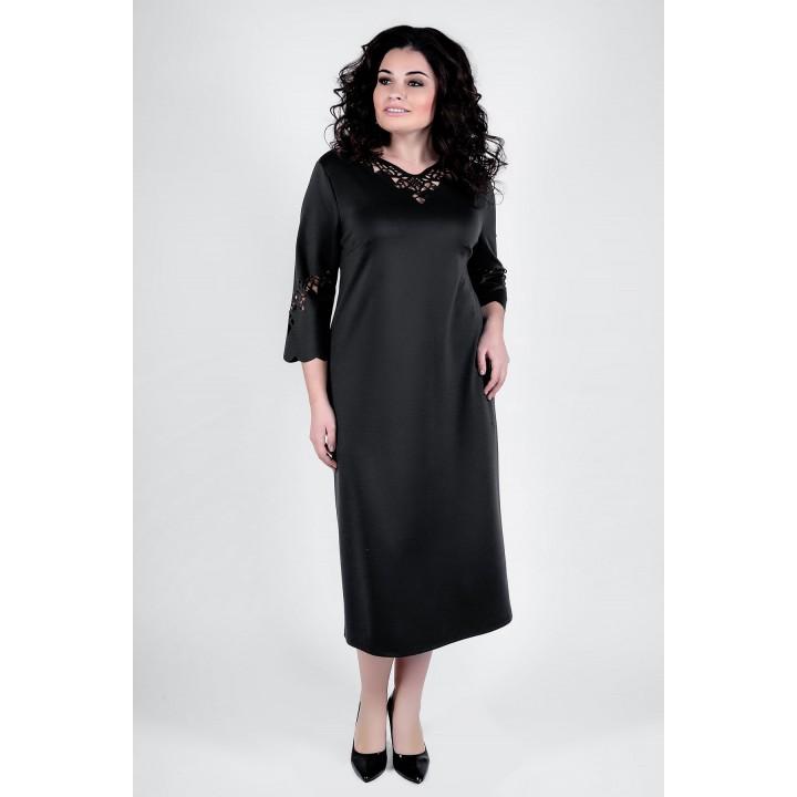 Платье Молли (черный)