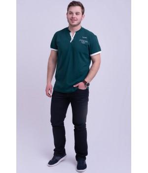 Мужская футболка Систен (зеленый)