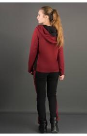 Спортивный костюм Наргиз (бордовый)