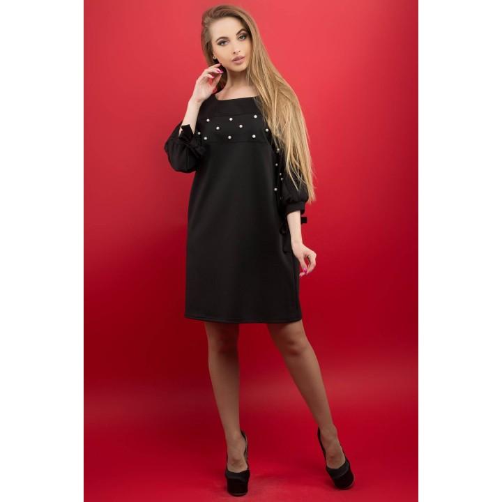 Платье Марис (черный) Оптовая цена