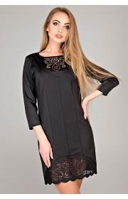 Платье Форина (черный)
