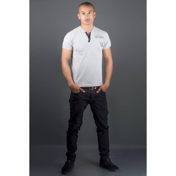 Мужская футболка Систем (серый)
