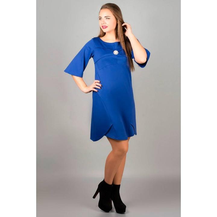 Платье Симона (электрик)     оптовая цена