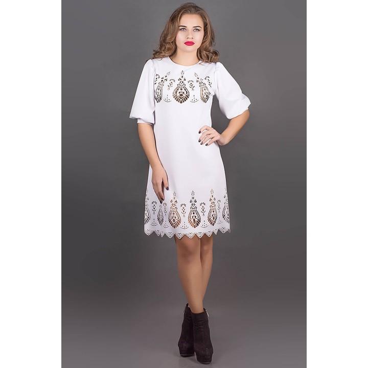 Платье Айсель (белый)