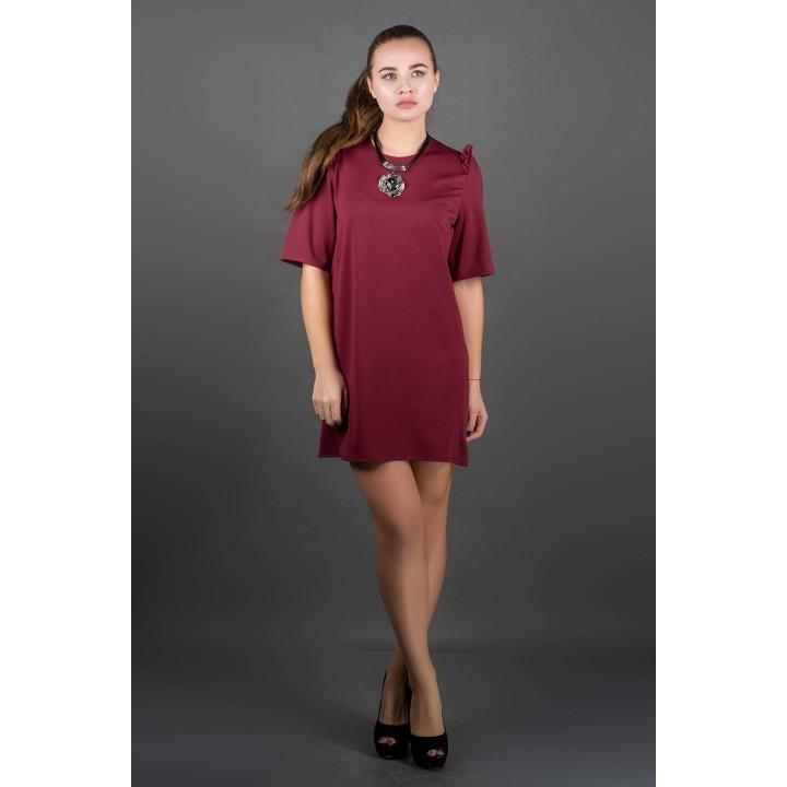 Платье Блуми (бордовый)