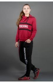 Спортивный костюм Перфект (бордовый)