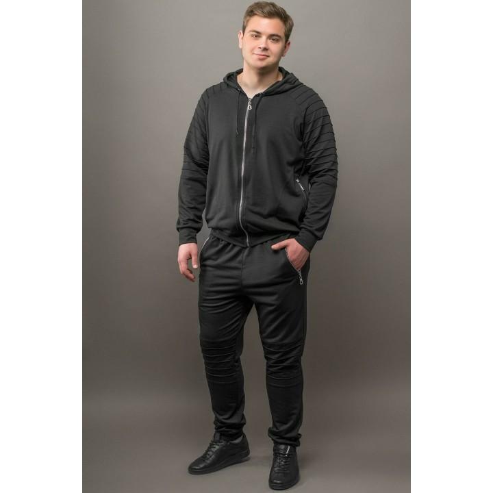 Мужской спортивный костюм Тимм (черный)