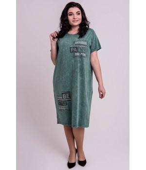 Платье Икара (зеленый)