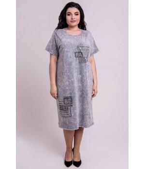 Платье Икара (серый)