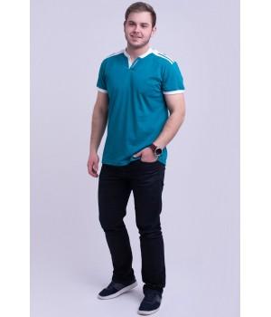 Мужская футболка Рональдо (морская волна)