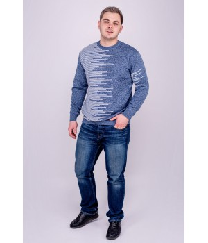 Мужской свитер Виктор (синий)