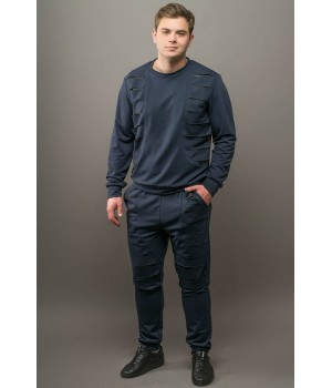 Мужской спортивный костюм Эполь (синий)