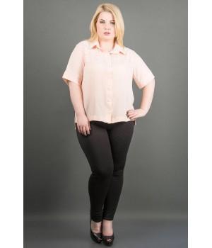 Рубашка Ника (персик )