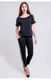 Спортивный костюм Мия (черный)
