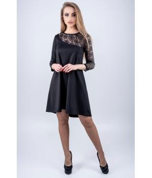 Платье Сакура (черный)