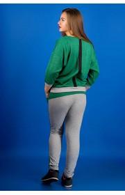 Спортивный костюм Одри (зеленый)