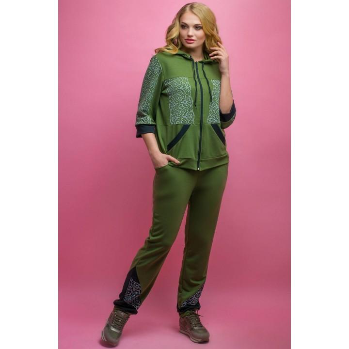 Спортивный костюм Кэри (хаки)   оптовая цена