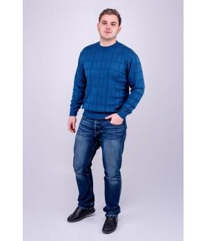 Мужской свитер Максим (бирюза)