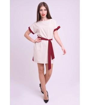 Платье Милинда (бордовый)