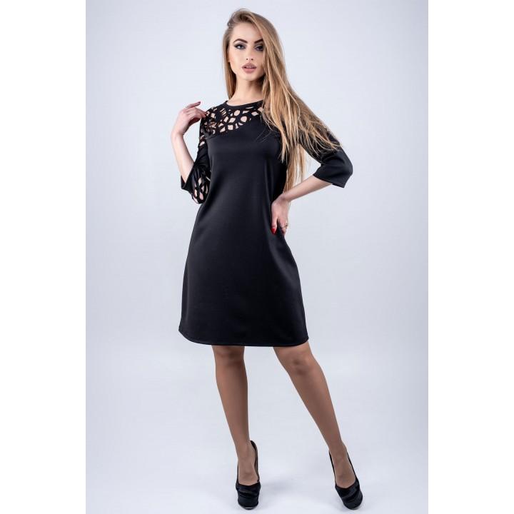 Платье Луиза (черный)