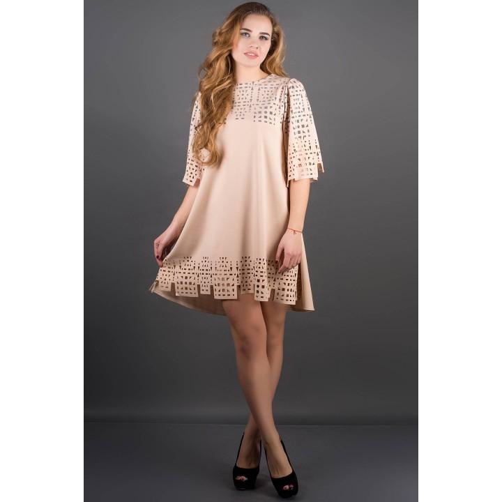 Платье Айви (бежевый)