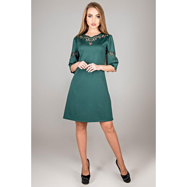 Платье Диколь (зеленый)