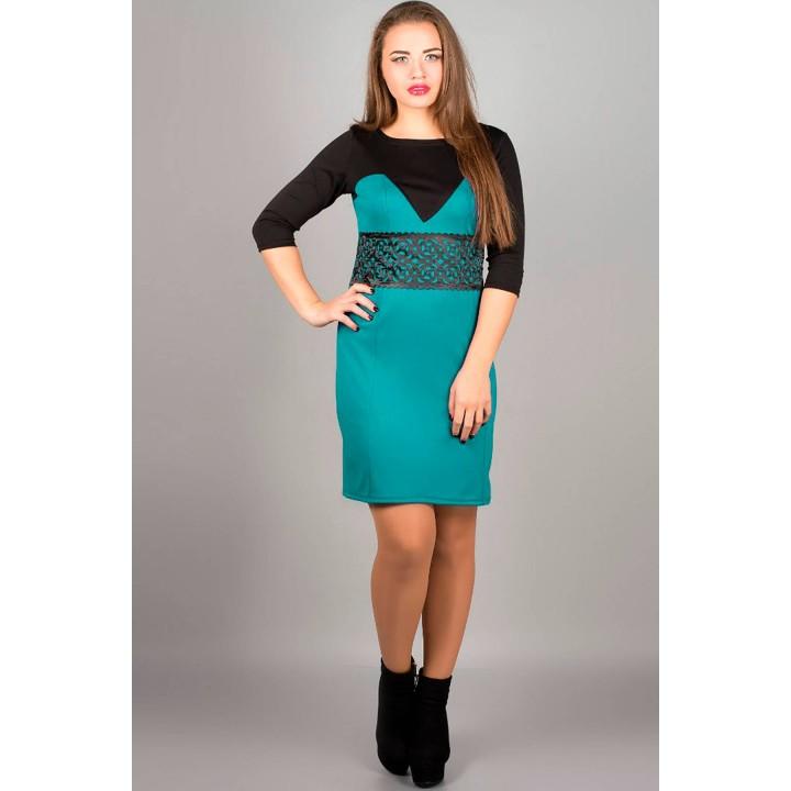 Платье Империя (бирюза)     оптовая цена