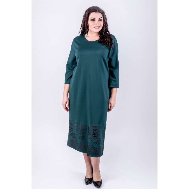 Платье Римма (зеленый)