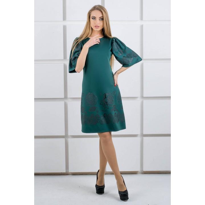 Платье Марлет (зеленый)