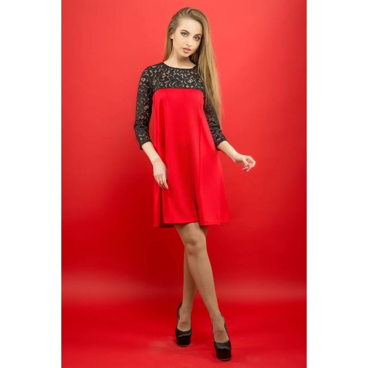 Платье Эмма (красный)