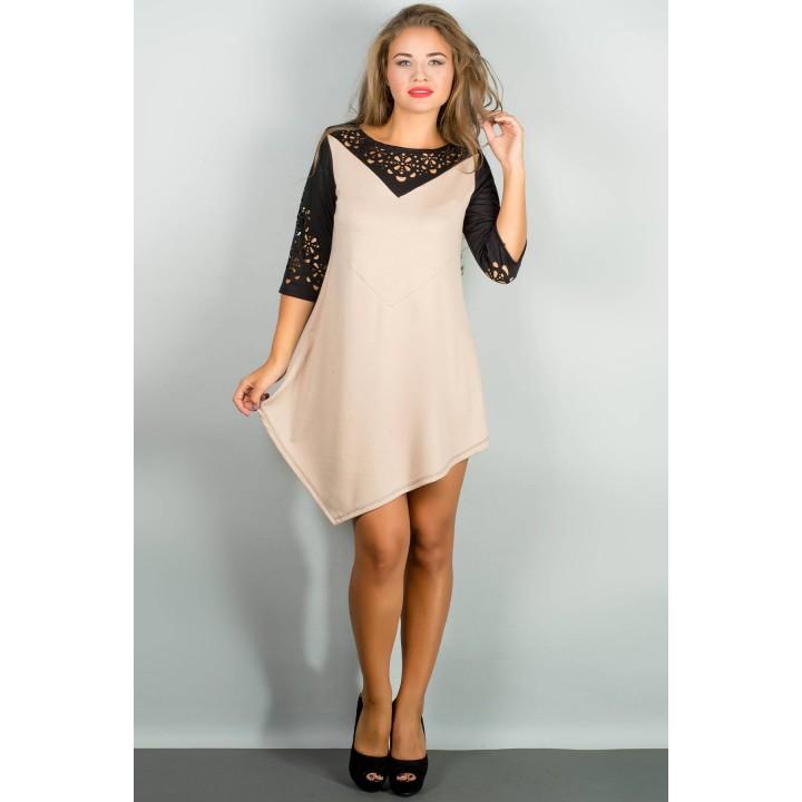 Платье Эсмина (бежевый) Оптовая цена