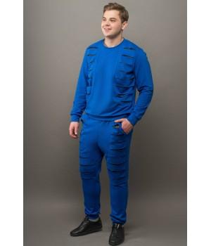 Мужской спортивный костюм Эполь (электрик)