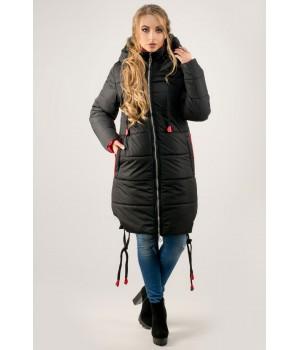 Зимняя куртка Лиана (черный)