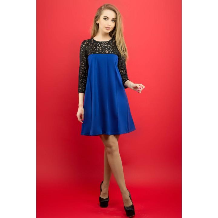 Платье Эмма (электрик) Оптовая цена