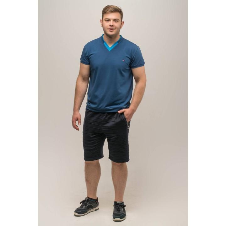 Мужские шорты Энджи (синий) Оптовая Цена