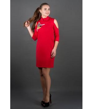 Платье Самира (красный)