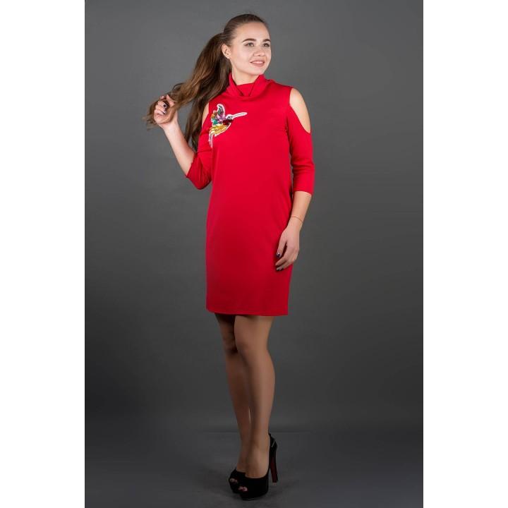 Платье Самира (красный) Оптовая цена