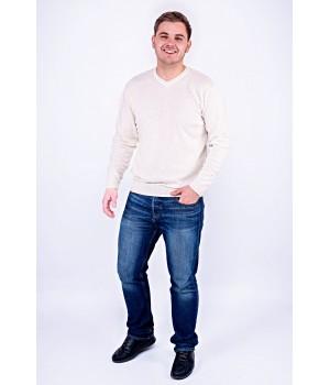 Мужской свитер Гриша (белый)