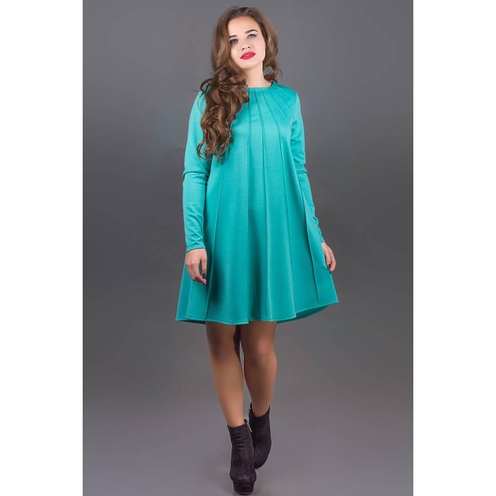 Платье Ситти (бирюза)