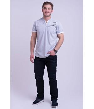 Мужская футболка Систен (серый)