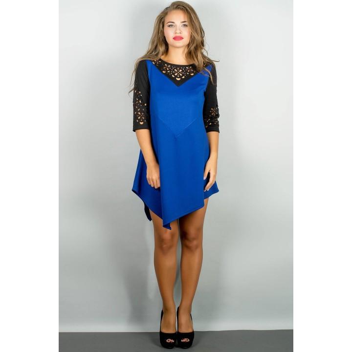 Платье Эсмина (электрик) Оптовая цена