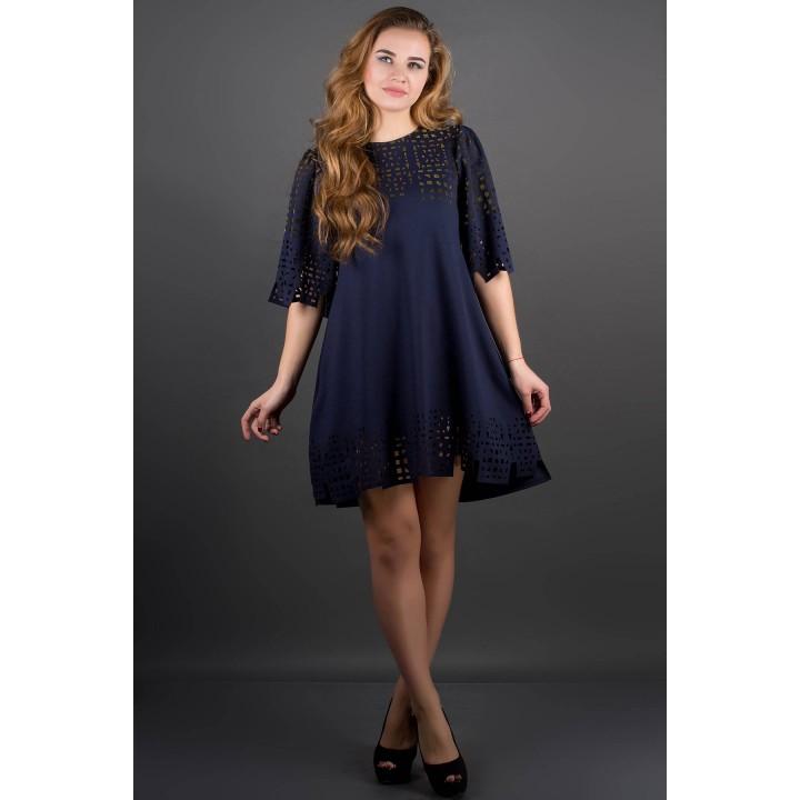 Платье Айви (синий)