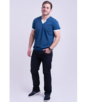 Мужская футболка Томи (светло синий)