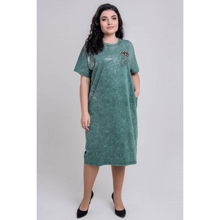 Платье Анет (зеленый)