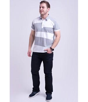 Мужская футболка Зидан (серый)