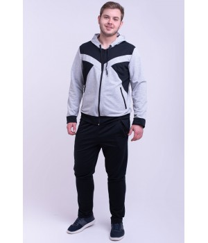 Мужской спортивный костюм Адвенд (серый)
