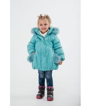 Зимняя детская куртка Бемби (мятный)
