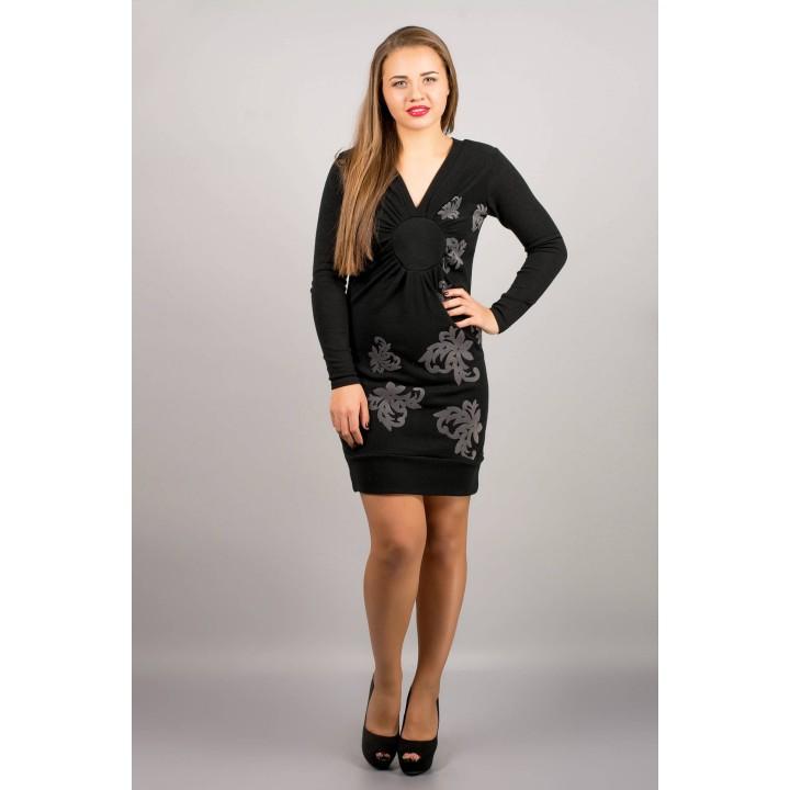Платье Патриция (черный) ОПТОВАЯ ЦЕНА