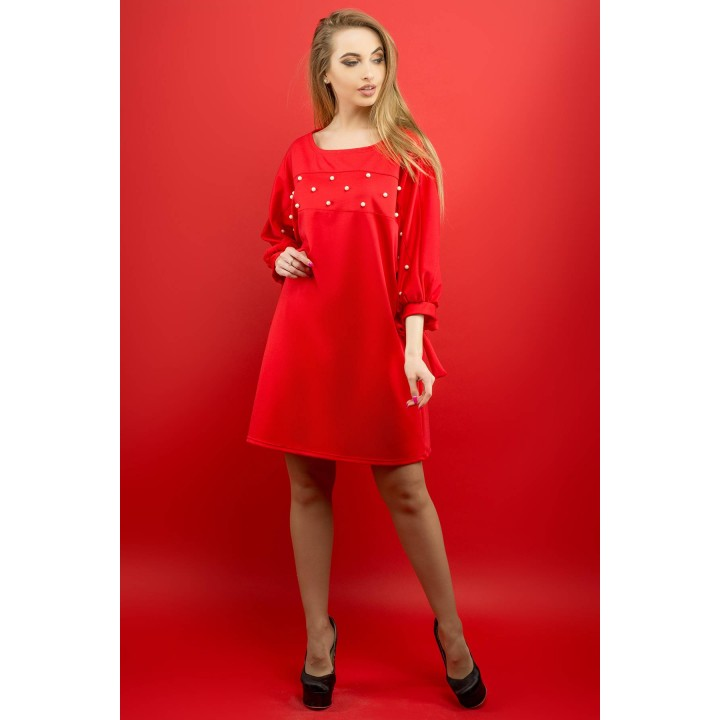 Платье Марис (красный)